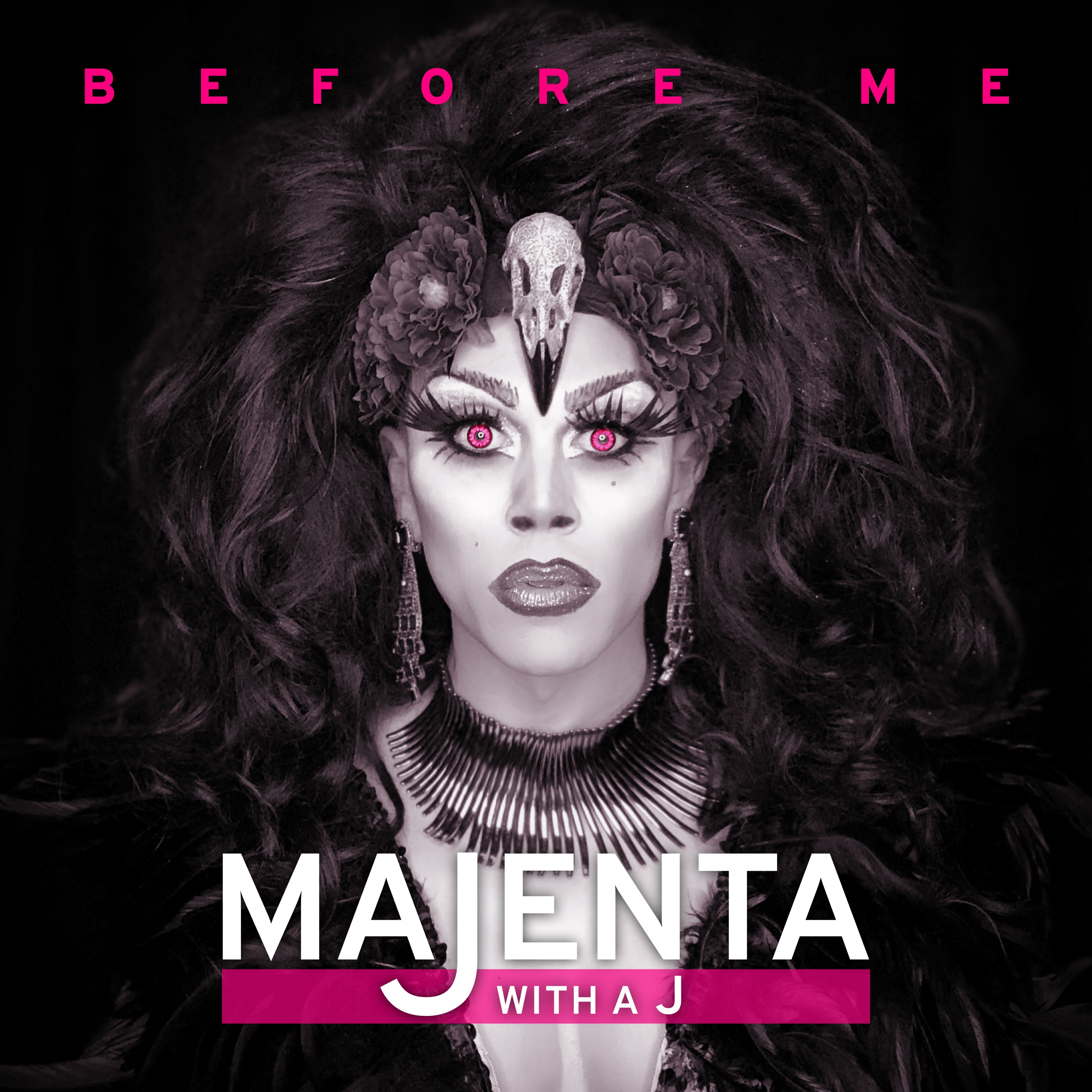 Majenta with a J: Before Me (Album Cover)